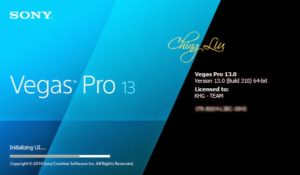 Sony Vegas Pro 13 Torrent {Crack + Keygen} Full Version