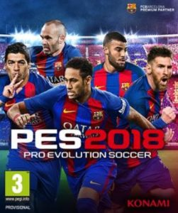 PES 2018 Torrent Full Version + Crack + Patch